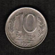 RUSSIA  10 KOPEKS 1993 (Y # 313) - Russia