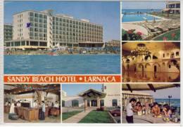 CYPRUS - LARNACA -  SANDY BEACH HOTEL,  Nice Stamp - Cyprus