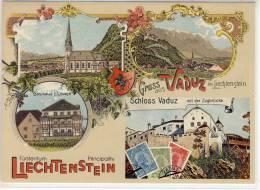 Gruss Aus VADUZ - Repro, Fürstentum Liechtenstein,  Gasthaus Z. Löwen ....., Nice Stamp - Liechtenstein