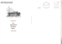 EMA 27 Evreuax CT,Eure Sur Enveloppe Groupe ROBECO,finances,Palais Brogniart,Bourse De Paris,lettre 9.7.1992 - Unclassified