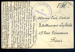 Cpa  Du 01 Vue De L' Ain -- Pont D' Ain Le Suran -- Cachet 29è Bataillon Des Chasseurs à Pied - Le Vaguemestre  FEV16 19 - Marcophilie (Lettres)