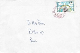 Cameroun Cameroon 2015 Campo Depart Unity Monument Domestic Cover - Kameroen (1960-...)