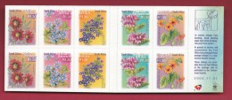 SOUTH AFRICA, 2000, M.N.H. Booklet  Of Stamps , 7th Definitives Flowers, SA A55   ,F1392 - Booklets