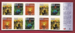 SOUTH AFRICA, 2002, M.N.H. Booklet  Of Stamps , World Summit , SA 61   ,F1399a - Booklets