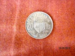 France: La Réunion 20 Francs 1962 - Réunion