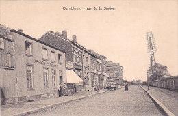 Gembloux - Rue De La Station (animée, Estaminet, Café, Attelage) - Gembloux