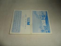 ANCIEN CALENDRIER DE POCHE  1993  / PUB  PAGEM LIEGE - Calendriers