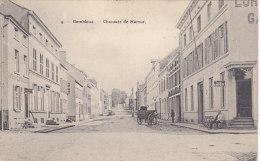 Gembloux - Chaussée De Namur (animée, Hôtel, Café, Attelage, Bertels, 1910) - Gembloux