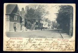 Cpa De Angleterre Near Brighton Preston Village  FEV16 19 - Brighton