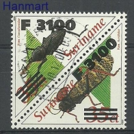 Surinam 2000 Mi Par1760-1761a Cancelled - Insects - Insectos