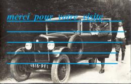 CPP Voiture Automobile Peugeot 5 Imatriculé 4818 PF 1 Prefecture LYON 69   / Mode Chapeaux - PKW