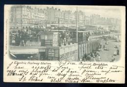 Cpa De Angleterre Brighton -- Electric Railway Station  FEV16 19 - Brighton