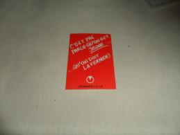 ANCIEN CALENDRIER DE POCHE  1986-87   / PUB ETUDIANTS FGTB LIEGE - Calendriers