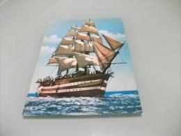 NAVE SHIP VELIERO  NAVE SCUOLA AMERIGO VESPUCCI IN NAVIGAZIONE LIVORNO - Livorno
