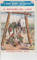 DC2) Jean De La Hire IL MISTERO DEL LAGO N° 59  I TRE BOY SCOUTS AVVENTURA Ed. SONZOGNO 1954 - PAGINE IN BUONE CONDIZION - Libri, Riviste, Fumetti