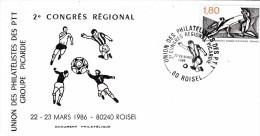 CONGRES PTT PICARDIE 1986 EXPO FOOT - Voetbal