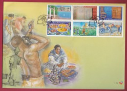 RSA, 2004, Mint FDC , Legacy Of The Slaves, 7-70 , F2682a - FDC