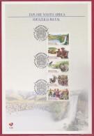 RSA, 1998, Mint FDC Card , Explore Kwazulu Natal, 6-90 , F2682c - FDC
