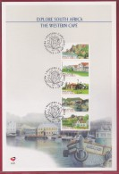 RSA, 1998, Mint FDC Card , Explore Western Cape, 6-81 , F2682d - FDC