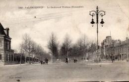VALENCIENNES : Le Boulevard Watteau (ensemble ) N°5827 - Valenciennes