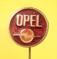 OPEL Auto Moto Association Yugoslavia / Car OLD LOGO Voiture   - Vintage Pin Badge - Opel