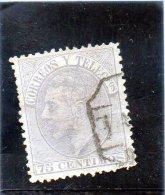 1882 Spagna - Alfonso XII - 1875-1882 Regno: Alfonso XII