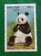BHUTAN, WILD LIFE, ENDANGERED SPECIES GIANT PANDA, MAMMEL, WWF, 50Ch, MNH - Bhutan