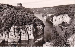 AK Donaudurchbruch Bei Weltenburg Mit Befreiungshalle (21502) - Kelheim