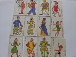 JEU De CRIC  CRAC  28 Cartes 4 Siècles 7 Personnages  - LA VACHE QUI RIT - - Group Games, Parlour Games