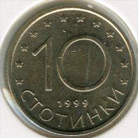 Bulgarie Bulgaria 10 Stotinki 1999 UNC KM 240 - Bulgarije