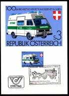 Austria Vienna 9.12.1981 / First Aid / Coach / Horses / Medicine / Ambulance / Cancel No. 2 - Primo Soccorso