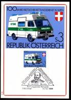 Austria Vienna Wien 1981 / First Aid / Coach / Horses / Medicine / Ambulance / Jaromir Mundy Stamp Exhibition - Primo Soccorso