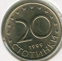 Bulgarie Bulgaria 20 Stotinki 1999 UNC KM 241 - Bulgarije