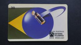 Brazil - Sistema Telebras - 1997 - 03-07/97 - 20 Unidades - Serie Brasilsat - Used - Brésil