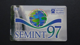 Brazil - Sistema Telebras - 1997 - 02-09/97 (4 SEM) - 20 Unidades - SEMINT 97 - Used - Brésil