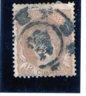 1870/72 Spagna -  12 Cuartos - 1870-72 Reggenza