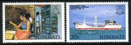 1987 - KIRIBATI - Mi. 487/488 - NH - (REG2875.....C) - Kiribati (1979-...)