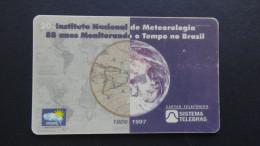 Brazil - Sistema Telebras - 1998 - 04-01/98 - 20 Unidades - Instituto Nadenal De Meteorologia - Used - Brasilien