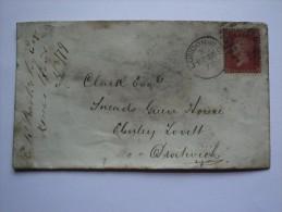 GB VICTORIA 1879 COVER LONDON WC DUPLEX TO DROITWICH - 1840-1901 (Victoria)