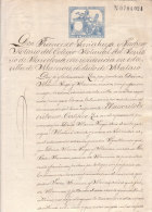 BARCELONA DOCUMENT NOTARIAL - Spain