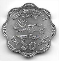 *bangladesh 10 Poisha 1974 Km 7  F A O    Unc - Bangladesh