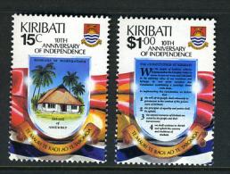 1989 - KIRIBATI - Mi. 521/522 - NH - (REG2875.....C) - Kiribati (1979-...)
