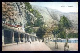 Cpa Du Montenegro Kotor Cattaro FEV16 20 - Montenegro