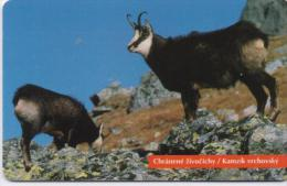 SLOVAKIA PHONECARDS ANIMAL-50000cps -2/96-USED(2) - Telefoonkaarten