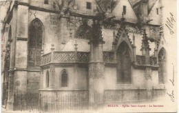 Melun Eglise Saint Aspais 1906. - Melun