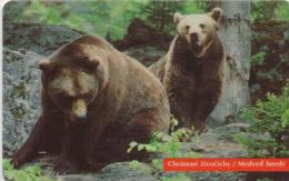 SLOVAKIA PHONECARDS ANIMAL-50000cps -7/96-USED(2) - Télécartes