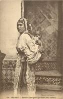 A-16 3243. FEMME PORTANT SON ENFANT - Maroc