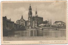 I3963 Dresden - Elbpanorama Von Neustadt Aus - Barche Boats Bateaux / Non Viaggiata - Dresden
