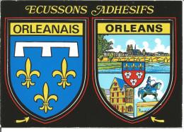 Blason Armoiries  Loiret Orléans  Héraldique Ecusson Adhésif - Stickers