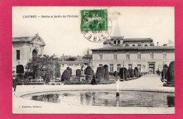 81 TARN CASTRES, Mairie Et Jardin De L'Evêché, Animée, 1913, (J. Blattes) - Castres